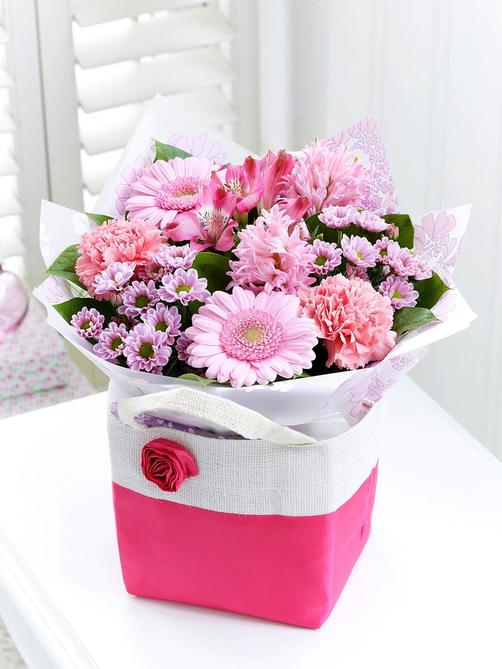 A Bouquets of About Mallow Flower